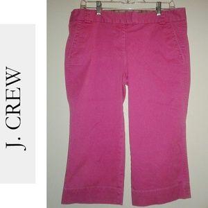 J.CREW Pink Capris